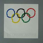 """Record cover, """"The Olympic Anthem"""""""