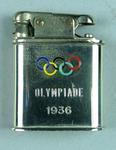Cigarette lighter, 1936 Berlin Olympic Games design