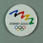 Badge, Sydney 2000 Olympic Bid