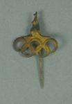 Lapel pin, Olympic Rings & kangaroo