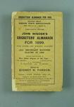 Wisden Cricketers' Almanack, 1899