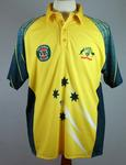 Australian limited overs cricket shirt, issued to Ricky Ponting