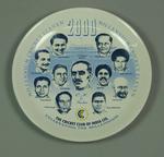 "Commemorative plate, ""Millennium Cricket Eleven 2000"""