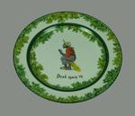 'Next Man In' - Royal Doulton  cricket series plate