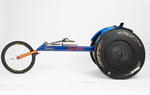 Racing wheelchair used by Kurt Fearnley,  Beijing Paralympic Games, 2008