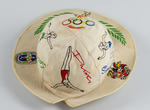 Sun hat, 1956 Olympic Games design