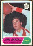 1969 Scanlens (Scanlens) Australian Football John Rantall Trade Card