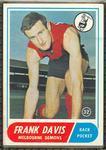1969 Scanlens (Scanlens) Australian Football Frank Davis Trade Card