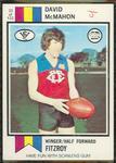 1974 Scanlens (Scanlens) Australian Football David McMahon Trade Card