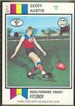 1974 Scanlens (Scanlens) Australian Football Geoff Austin Trade Card