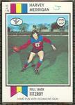 1974 Scanlens (Scanlens) Australian Football Harvey Merrigan Trade Card
