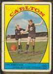 1968 Scanlens (Scanlens) Australian Football Ian Robertson, Cliff Stewart Trade Card