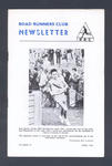 """Booklet, """"Road Runners Club Newsletter"""" - April 1966"""