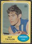 1970 Scanlens (Scanlens) Australian Football Ray Taylor Trade Card
