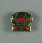 Badge, MCG logo c1990s