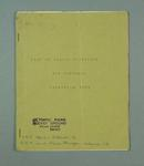 Booklet, List of 1956 Olympic Games Hockey Officials