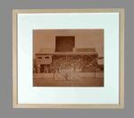 Reproduction sepia photograph, 1878 Australian Cricket Team