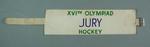 Armband, 1956 Olympic Games hockey jury
