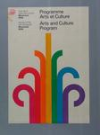 Poster, 1976 Montreal Olympic Games - Arts and Culture Program