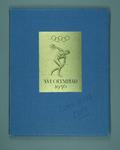 Book, Invitation to 1956 Melbourne Olympic Games