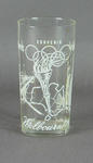 Drinking glass, 1956 Melbourne Olympic Games design