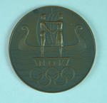 Norwegian Competitor's Medallion, Norges Olympiske Komite 1956