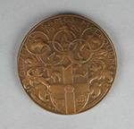Medallion, 1956 Melbourne Olympic Games