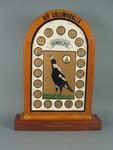 """Painted plaque, """"Premiership Icon"""" by Steven Krahe"""