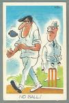 1972 Sunicrust Cricket - Comedy Cricket, No Ball trade card