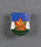 Badge, Canada - British Empire and Commonwealth Games 1962
