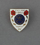Badge, British Empire and Commonwealth Games 1962 Perth - England team