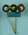 Stick pin, New South Wales Olympic Committee