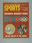 """Magazine, """"World Sports - Olympic Results Issue"""" Dec 1968"""