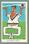 1972 Sunicrust Cricket - Comedy Cricket, Square Leg trade card