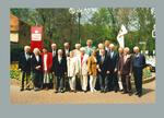 Photograph of 1956 German Olympic Games track & field team, 1996 reunion