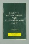 Programme for 1962 Commonwealth Games track & field events, 29 Nov