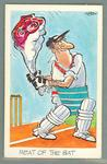 1972 Sunicrust Cricket - Comedy Cricket, Meat of the Bat trade card