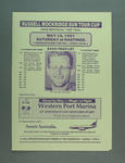 Programme for Russell Mockridge Sun Tour Cup 25km time trial, 18 May 1991