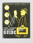 """Booklet, """"Postmaster-General's Postal, Telegraph and Telephone Guide 1956"""""""