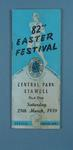 Programme, Stawell Easter Gift 1959