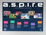 Posters x 7 - a.s.p.i.r.e. Australian Olympic Team Values
