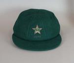 Pakistan Cricket cap, 1979, belonging to Javed Miandad
