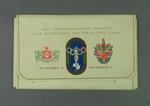 Envelope, 1956 Olympic Games tickets