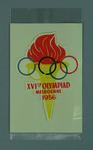 Sticker, 1956 Olympic Games logo