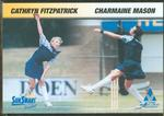 1998 VWCA Cathryn Fitzpatrick & Charmaine Mason trade card