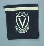 Blazer pocket worn by Winsome Cripps, VWAAA representative Australian Championships - 1954