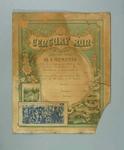Participant's Certificate - 100 Miles Century Run 5/11/1895 presented to F.W. Futcher