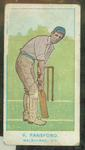 1905 Wills Capstan Australian Club Cricketers Vernon Ransford trade card
