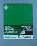 Programme, 100th Stawell Easter Gift 1981