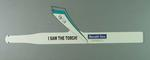 Headband - 'I Saw The torch' - 2000 Sydney Olympic Games Torch Relay souvenir